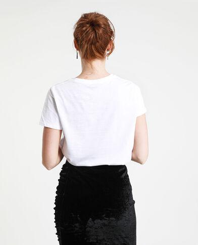 T-shirt Sorority blanc