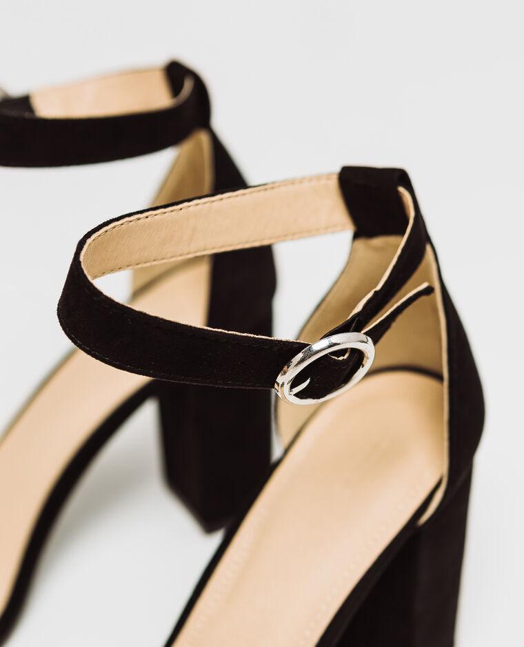 Sandales à talons noir - Pimkie