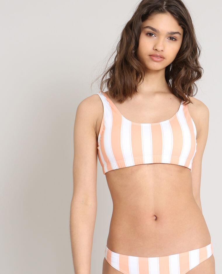 Haut de bikini brassière blanc
