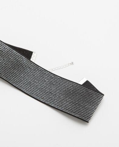 Large choker argenté gris argenté - Pimkie