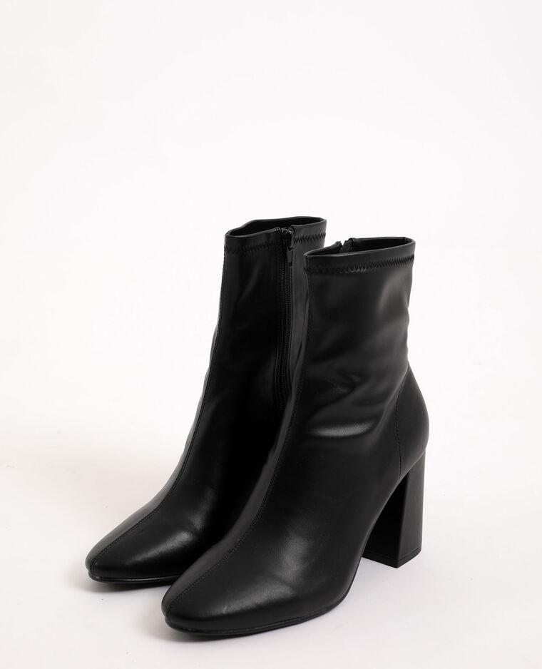 Boots à talons hauts noir - Pimkie