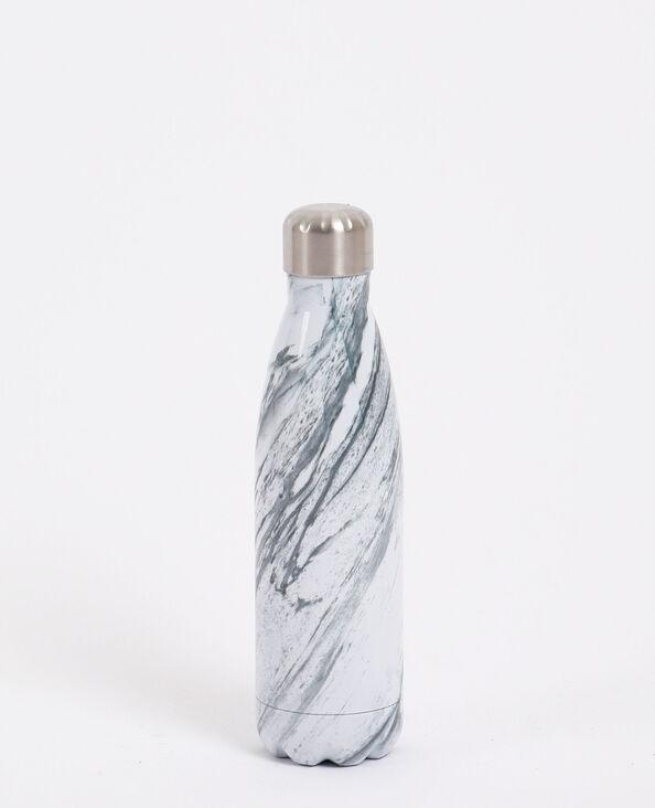 Gourde en aluminium blanc