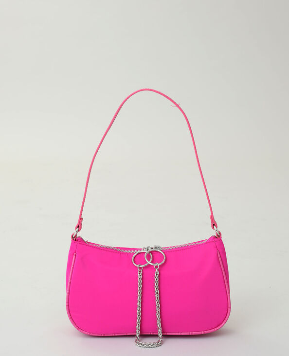 Sac nylon rose fushia
