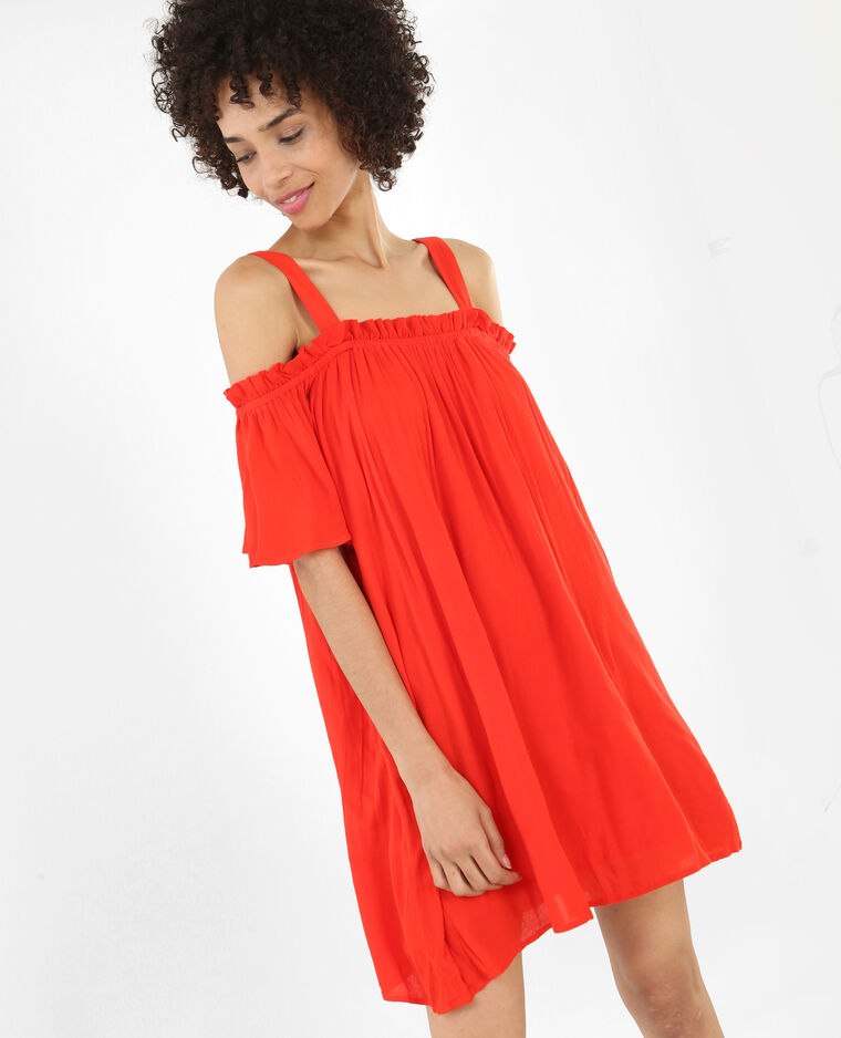 Robe Ample Rouge 780634344a03 Pimkie