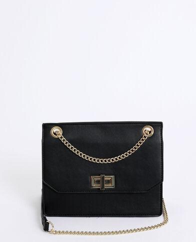90bc63dc7ed0e Petit sac boxy noir