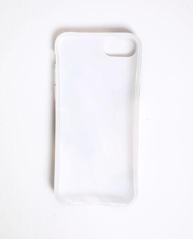 Coque multicolore compatible iPhone noir