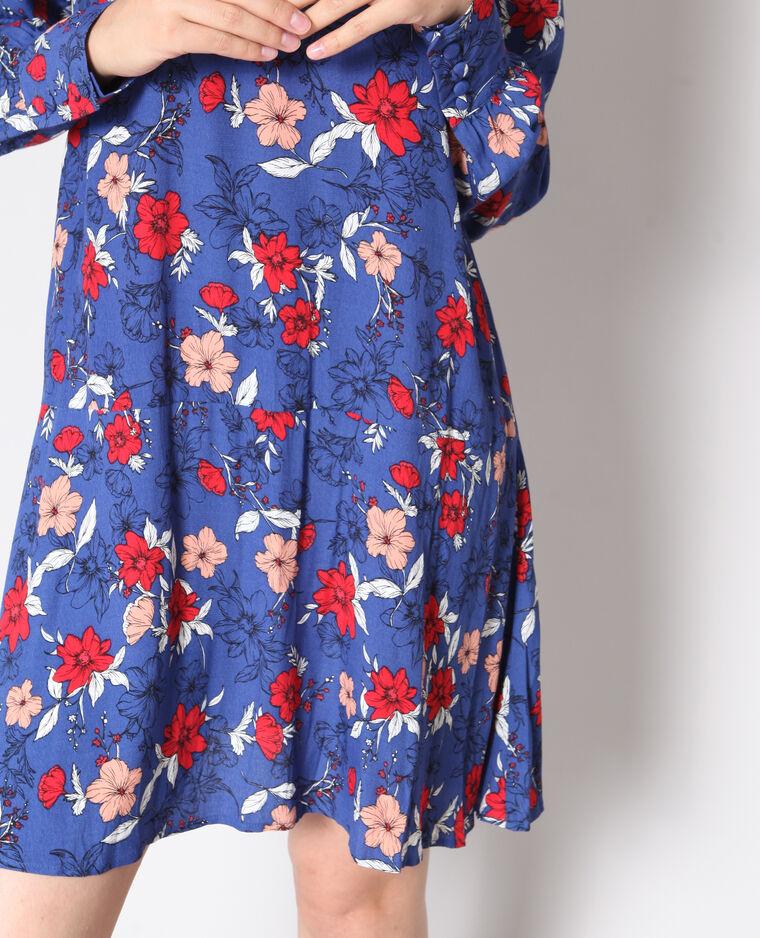 Robe fluide bleu