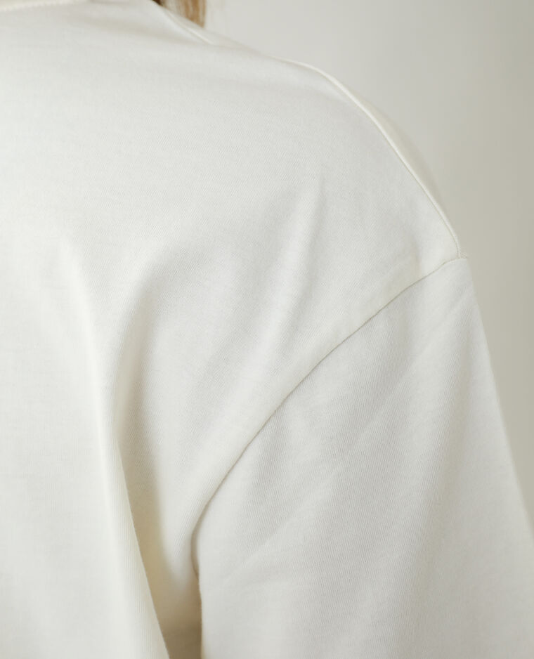 T-shirt ample beige - Pimkie