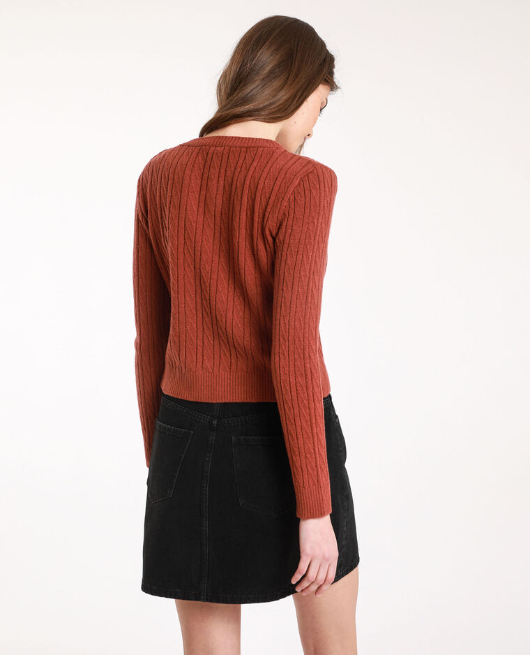 Pull court rouille