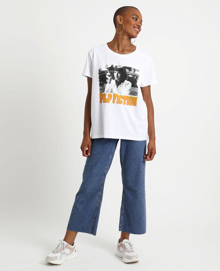 T-shirt Pulp Fiction blanc
