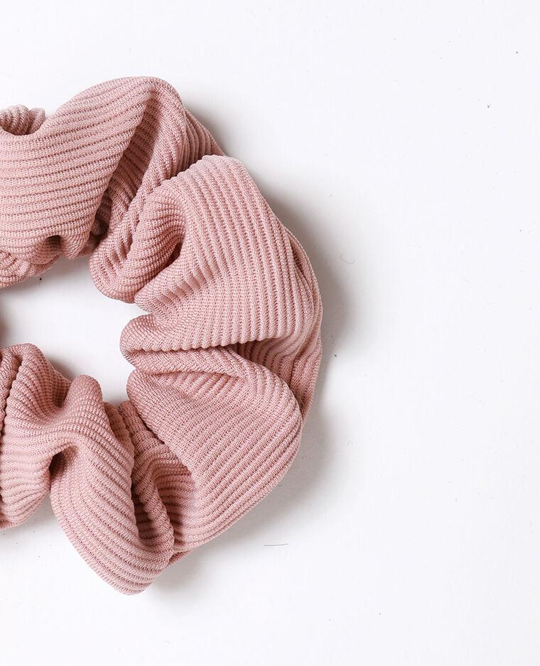 Chouchou texturé rose poudré - Pimkie