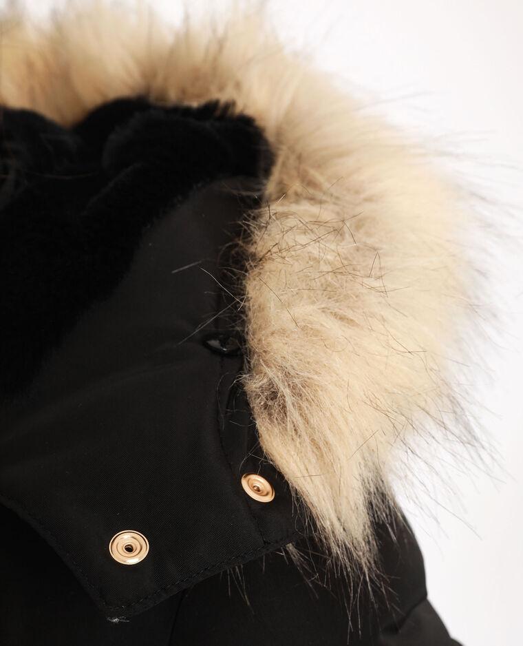 Doudoune à capuche noir - Pimkie