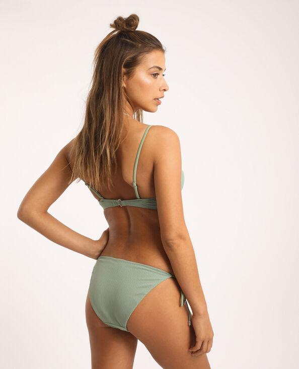 Haut de bikini corbeille vert clair