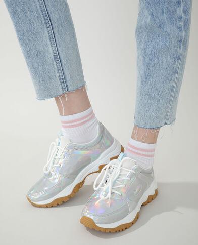 Baskets Dad shoes gris