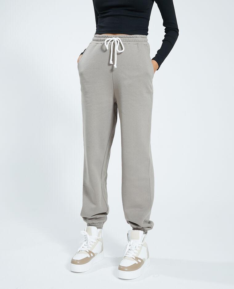 Pantalon molleton taupe - Pimkie