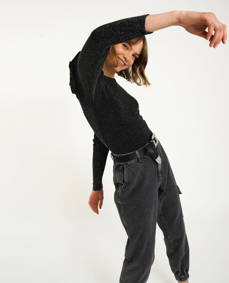 Body fils lurex noir - Pimkie