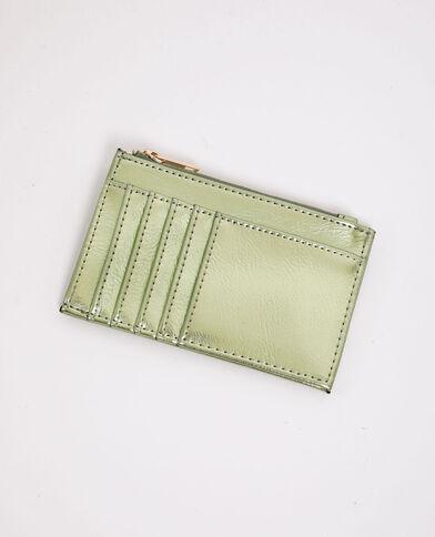 Porte-cartes vert