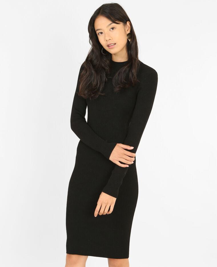 Robe pull moulante noir - 780759899A03   Pimkie 87e059be8571