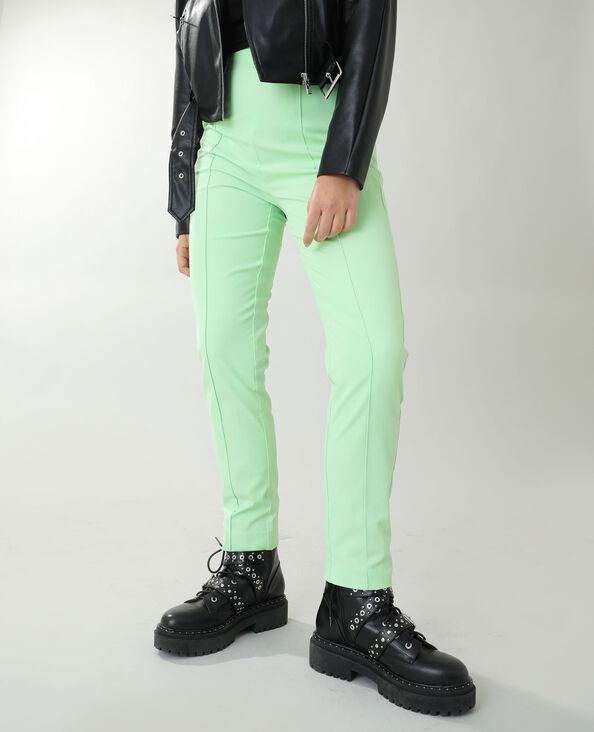Pantalon city vert