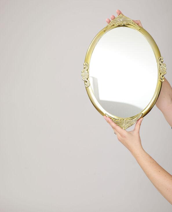 Grand miroir baroque jaune - Pimkie