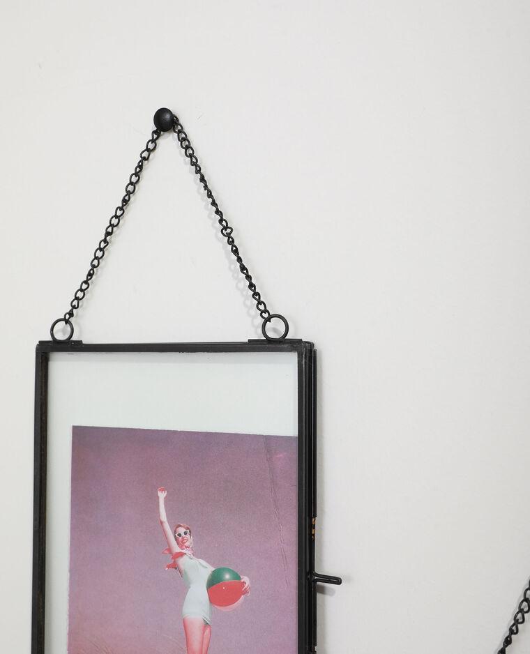 Lot de 2 cadres photos métalliques noir - Pimkie