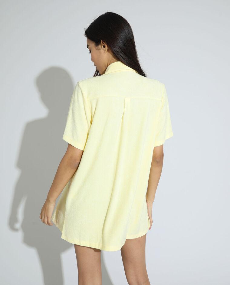 Chemise éponge jaune - Pimkie