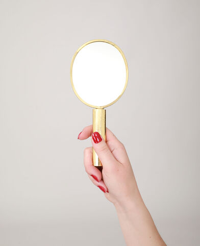 Miroir à main jaune - Pimkie