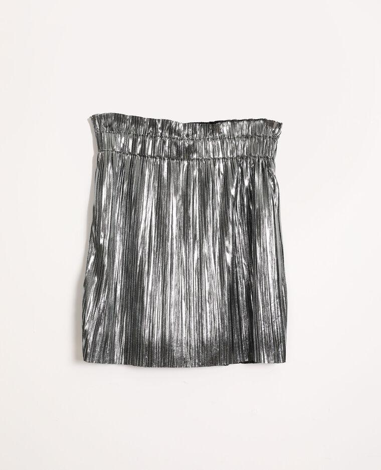 Jupe plissée gris - Pimkie