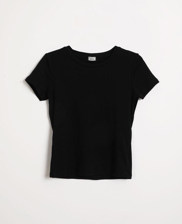 T-shirt basique noir