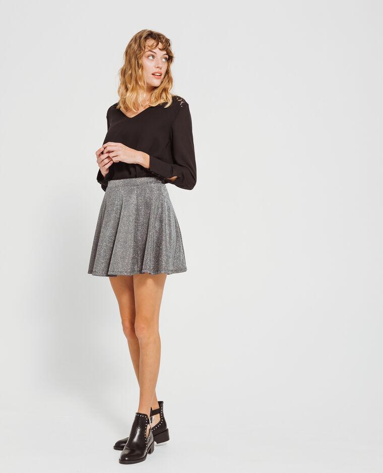 99822a2aa43e Mini jupe patineuse noir  Mini jupe patineuse noir
