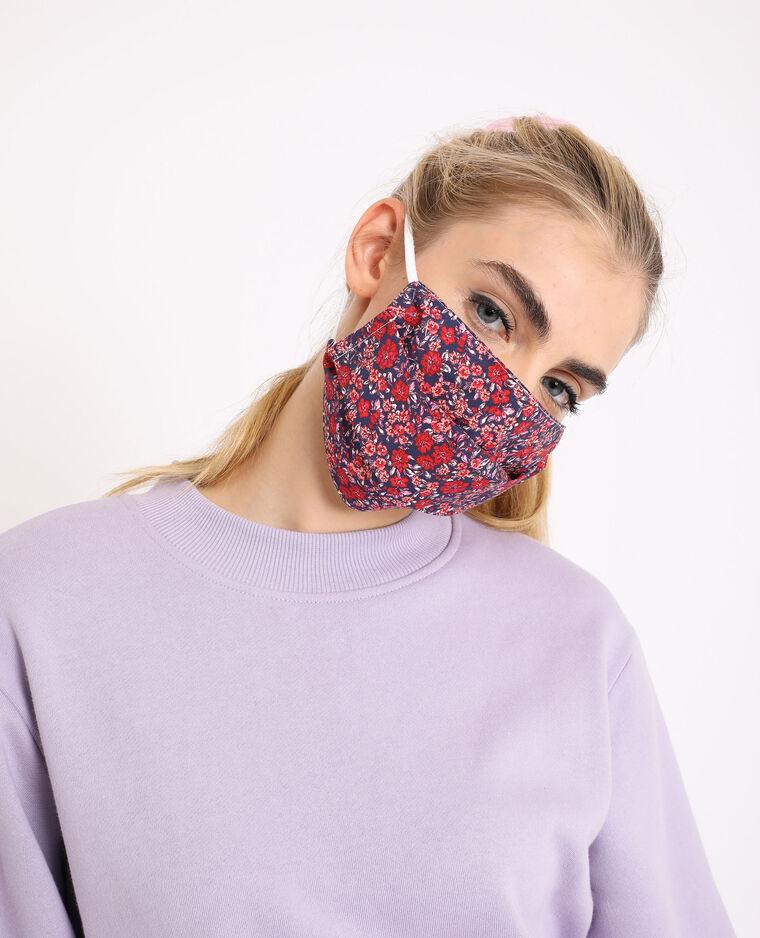 Lot de 2 masques rouge - Pimkie
