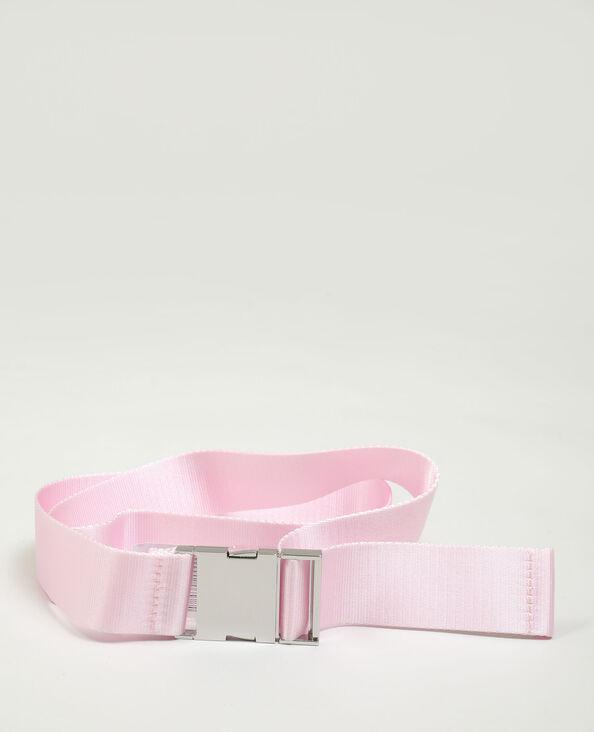Ceinture clip rose pâle - Pimkie