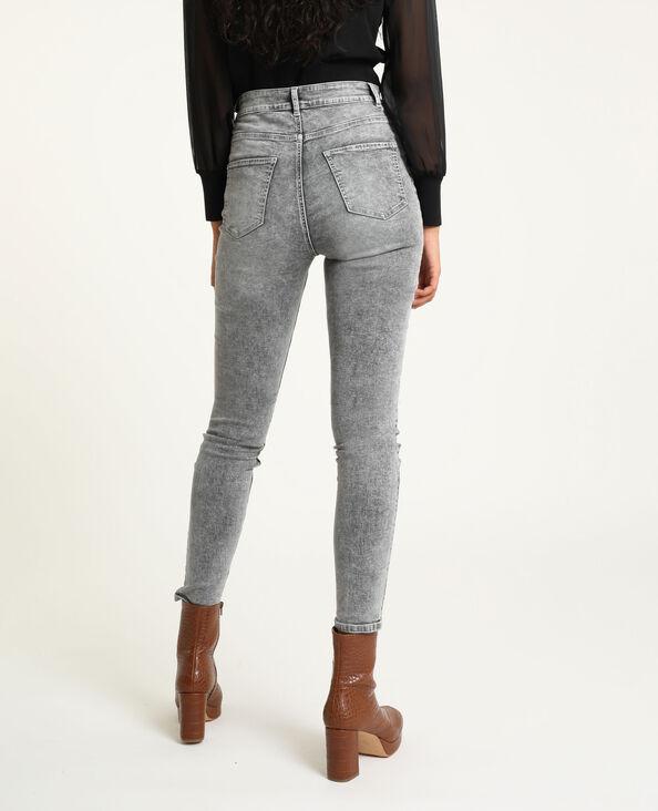 Jean skinny gris