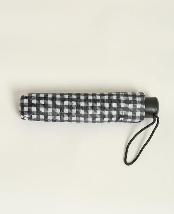 Parapluie imprimé noir