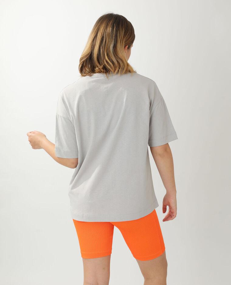 T-shirt ample Billie Eilish gris - Pimkie