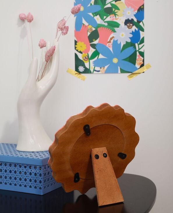 Affiche petit format fleurs et femme - Collab Lavilletlesnuages vert - Pimkie