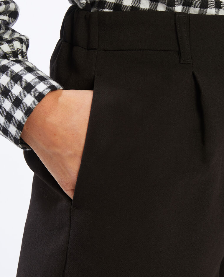 Short à pinces noir - Pimkie