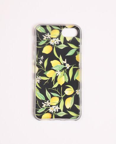 Coque compatible iPhone imprimée jaune - Pimkie
