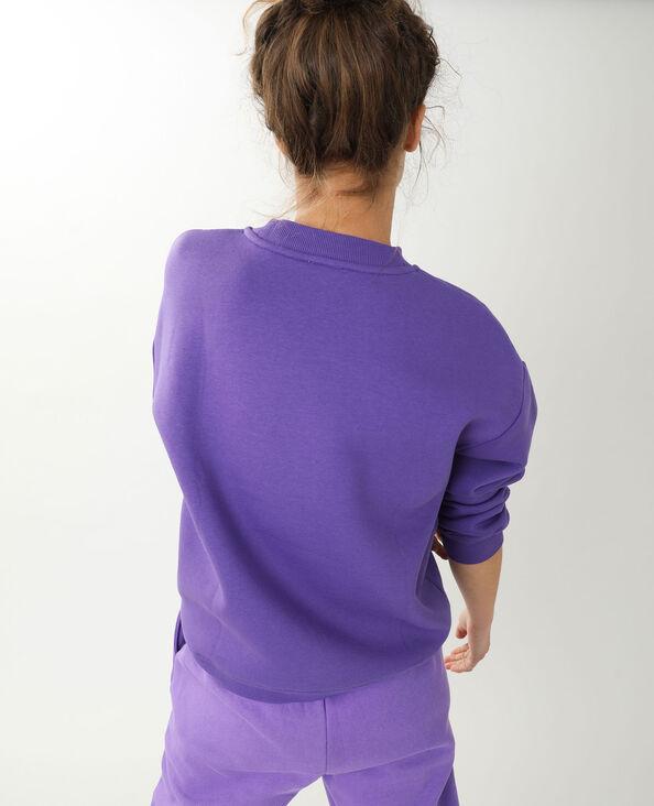 Sweat oversize violet
