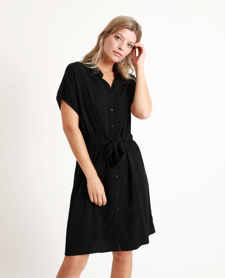 Robe chemise noir