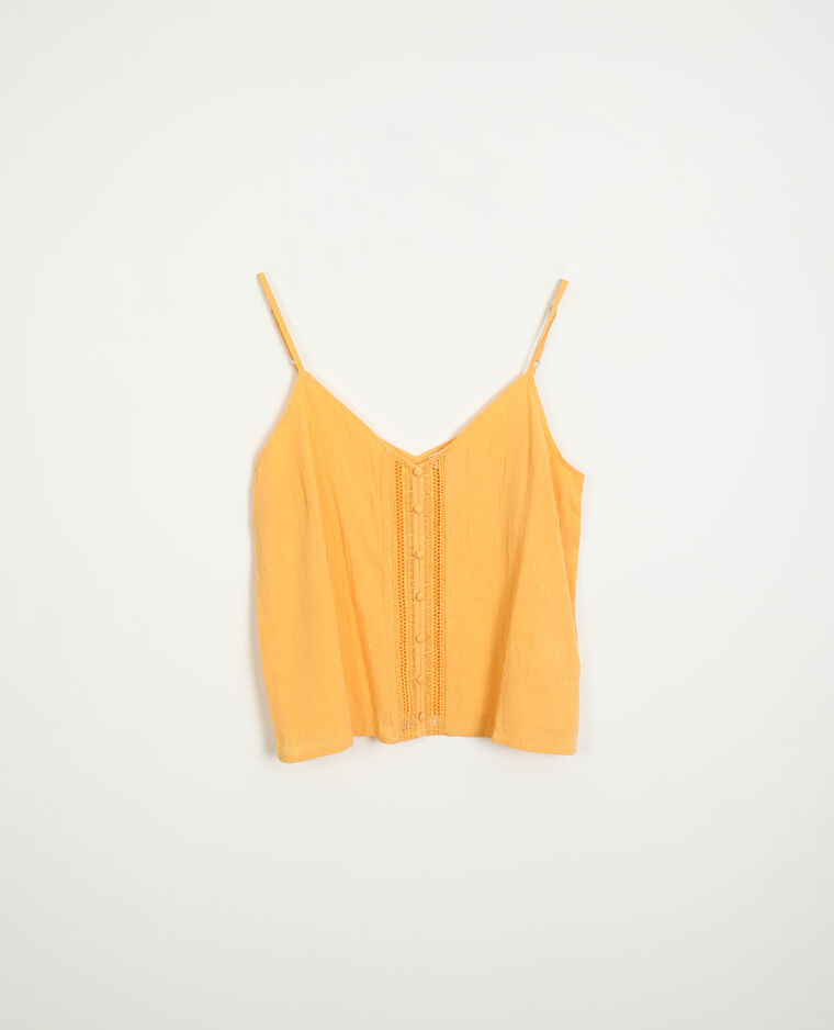 Top plumetis orange - Pimkie