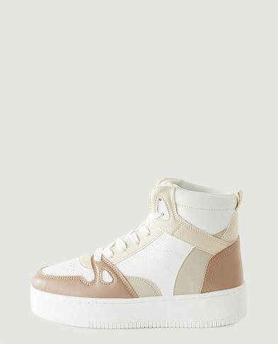 Baskets plateformes beige - Pimkie