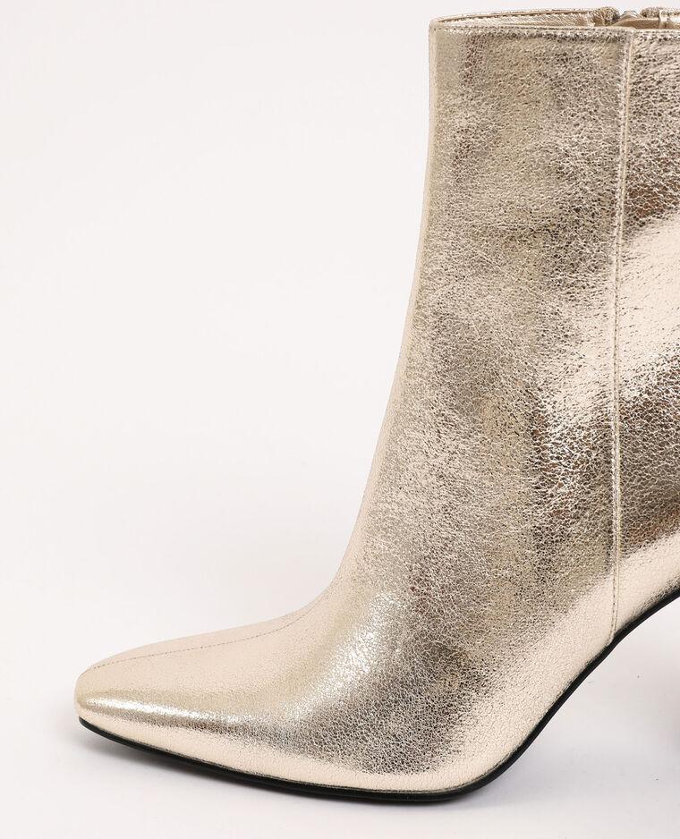 Boots à talons doré - Pimkie