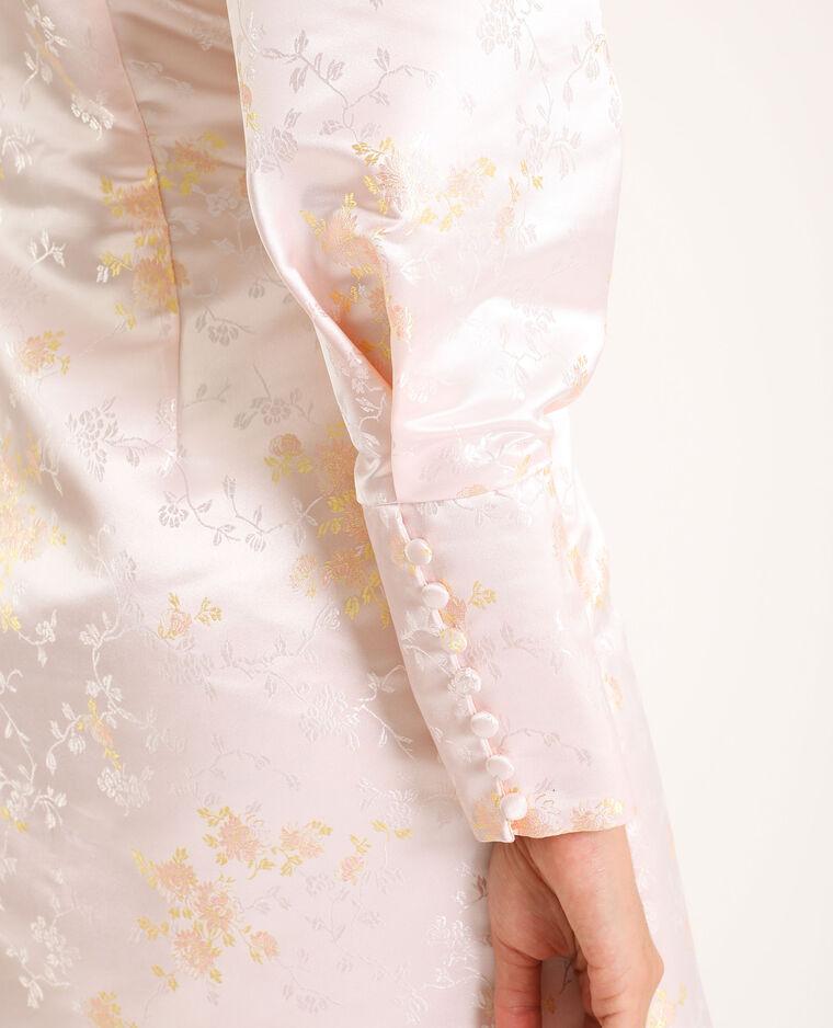 Robe esprit asiatique rose