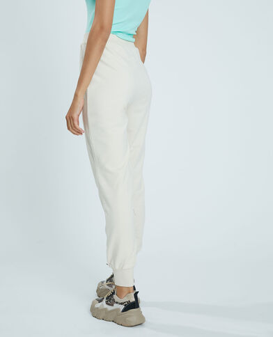 Pantalon molleton blanc - Pimkie