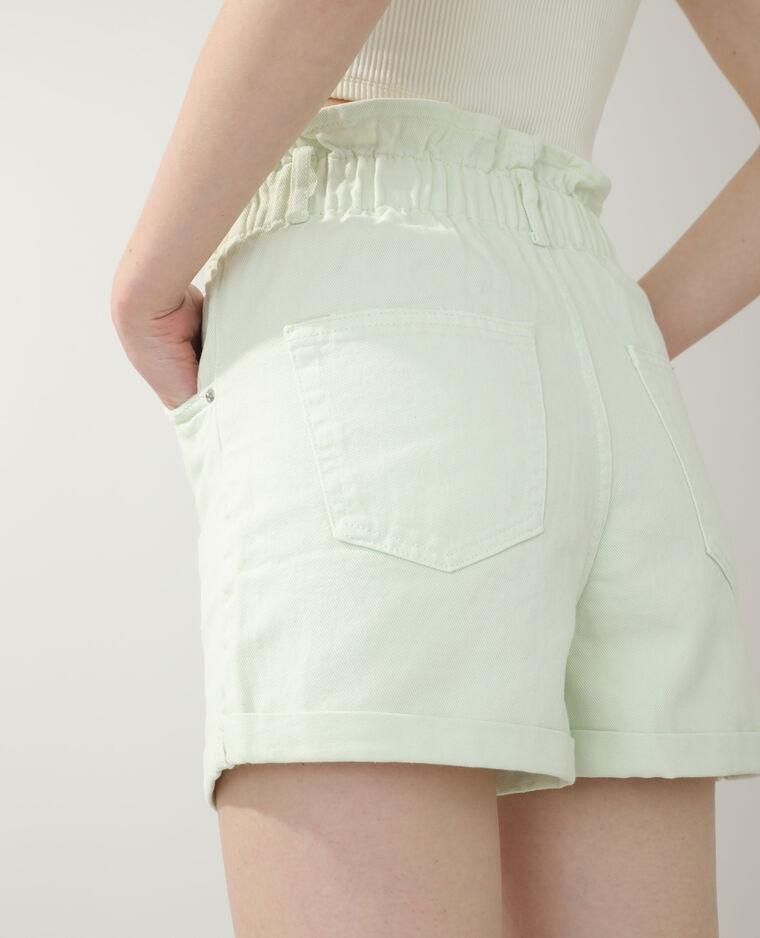 Short en jean vert d'eau - Pimkie