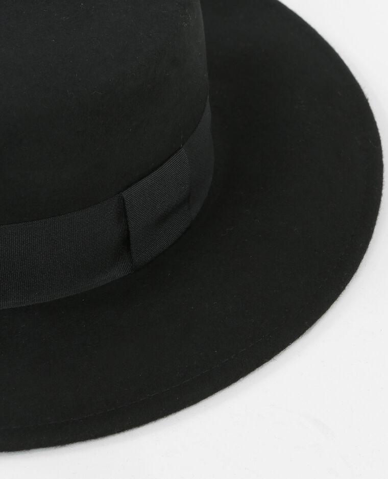 Chapeau style camarguais noir