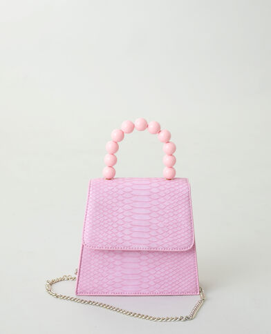 Sac à main perle rose - Pimkie