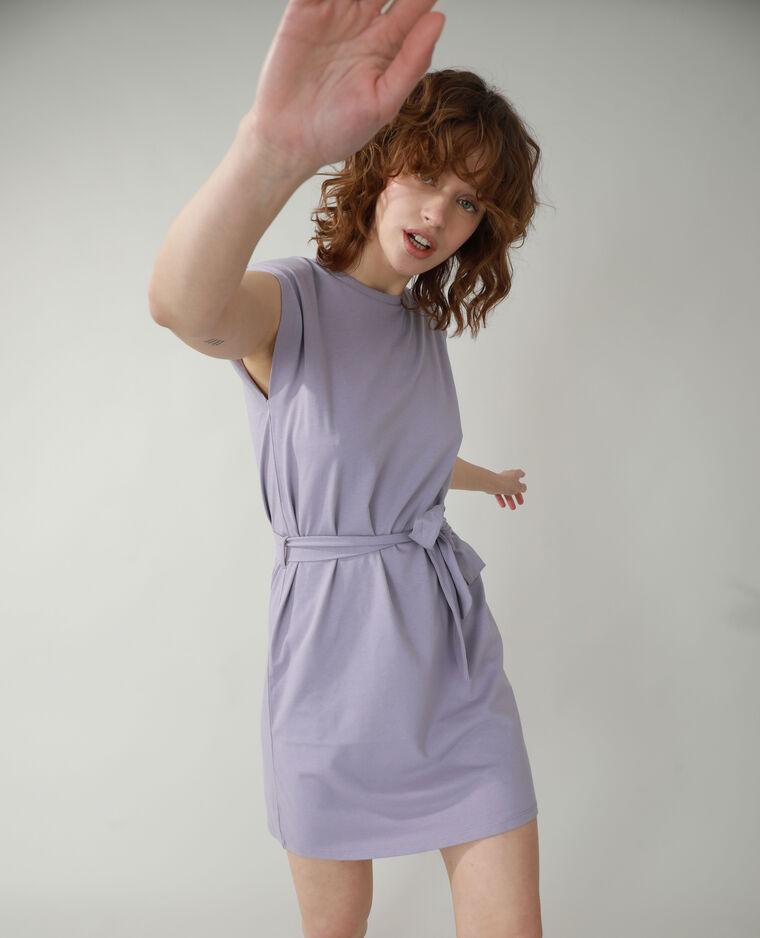 Robe droite à épaulettes violet - Pimkie