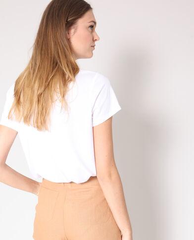 T-shirt imprimé blanc 9946e5b9da5f